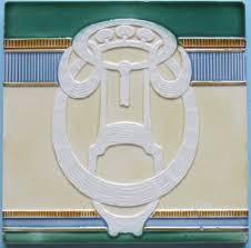 64 best jugendstill tiles images on nouveau tiles