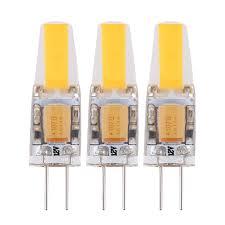 pack of 3 replaces 20 watt g4 base halogen bi pin light bulb led