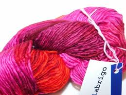 garne pink violet intenso 210yd skein malabrigo worsted