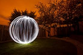Video of how to Light Paint an Orb