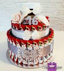 süße riegeltorte geschenk pralinen torte schokolade