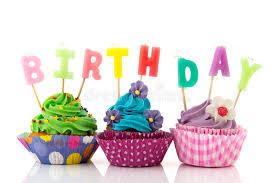 Download Birthday cupcakes stock photo Image of birthday pastry
