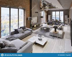 100 What Is A Loft Style Apartment Large Modern Style Partment With Sofas Rmchair Fireplace