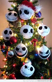 Nightmare Before Christmas Halloween Decorations Diy by 15 Creative Diy Christmas Tree Ornaments Jack Skellington Xmas