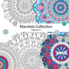 Mandala Collection Volume 1 Colouring Book For Stress Relief