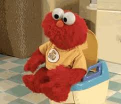 Elmo Potty Seat Cover by When I Get Back To My Own Toilet After A Vacation Gif On Imgur