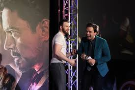 Chris Evans And Sebastian Stan Have A Moment