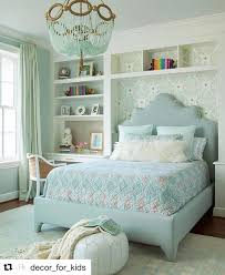 Mint Green Bedroom Ideas by Scalloped Upholstered Headboard In Built In Niche Ro Sham Beaux