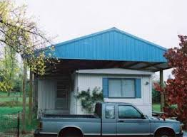 Metal roof over single wide trailer can it be done