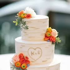 A Tree Inspired Wedding Cake Perfect For Summer Or Fall Nuptials