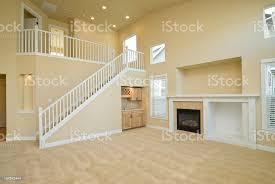 moderne wohnzimmer ist leer stockfoto und mehr bilder architektur