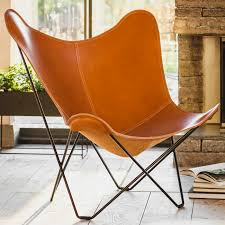 Leather Butterfly Chair - Pampa Mariposa