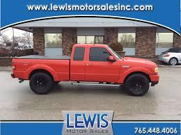 100 Used Ford Ranger Trucks 2009 For Sale At Lewis Motor Sales Inc VIN