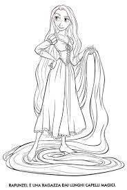 Unique Coloring Pages Rapunzel 44 For Free Kids With