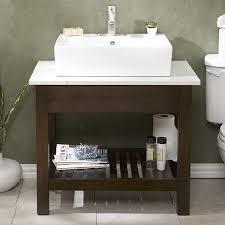 Restoration Hardware Bathroom Vanity Single Sink parsons single sink look 4 less