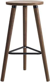 de barhocker stuhl fußstütze runder sitzhocker