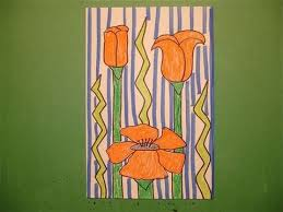 Lets Draw A California Poppy