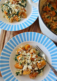Pumpkin Risotto Recipe Easy by Baked Pumpkin And Spinach Risotto Thoroughly Nourished Life