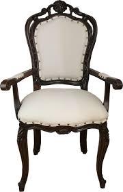 casa padrino luxus barock esszimmer stuhl in leicht creme braun mit armlehnen hotel barock stuhl luxus qualität