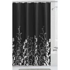 Walmart Canada Bathroom Curtains by Mainstays Shadow Leaf Fabric Shower Curtain Walmart Canada