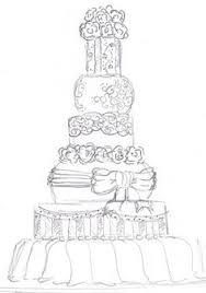 sketch of the perfect cake
