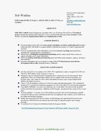 100 Agile Resume 19 Project Manager Simple Best Templates