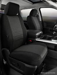 Fia Oe Tweed Custom Fit Front Seat Cover- Charcoal - Fia OE38-15 CHARC