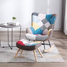 wohnzimmer schaukel stuhl balkon wohnung komfortable stuhl moderne minimalistischen lounge stuhl schlafzimmer stuhl einzigen sofa stuhl