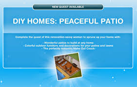 Sims Freeplay Halloween Update by The Sims Freeplay Diy Homes Peaceful Patio Quest Walkthrough