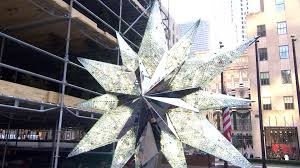 Rockefeller Plaza Christmas Tree by A First Look At The Rockefeller Center Swarovski Christmas Tree