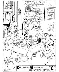 Hidden Object Pictures Printable For Kids