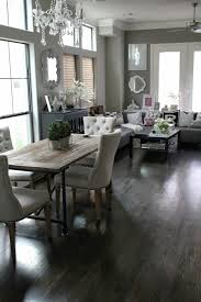 Veronikas Blushing Rustic Contemporary Dining Living Room Combination