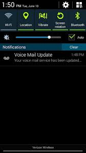 How do I visual voicemail notification to STOP POPPING UP 2014 06