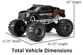 100 4x4 Truck Tires New Bright 18 Radio Control Ford Raptor Black Walmartcom