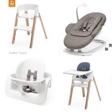 Stokke High Chair Tray by Stokke Steps High Chair Blossoming Birds