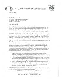 100 Maryland Motor Truck Association National Capital Region Transportation Planning Board