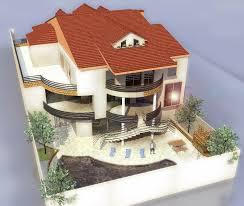 plan de maison 3d menuiserie