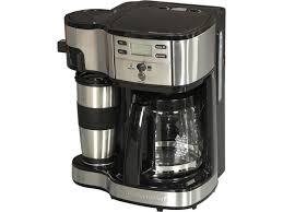Hamilton Beach Single Serve Or 12 Cup Coffee Maker