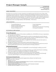 Sample Construction Resume Example Project Manager For Inspector Examples Of
