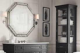 Restoration Hardware Mirrored Bath Accessories by Bathrooms Design Restoration Hardware Bathroom Sconces Before