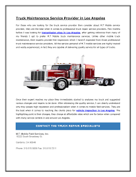 Truck Maintenance Service Provider In Los Angeles By Alister ... Tian Auto Harrisonville Mo 64701 Truck Repair Yahoo Local Search Results Wiers J E Service Opening Hours Po Box 467 Alexandria On Mobile Mechanic Roadside Car Semi About Eastern Trailer Center Parts Maintenance And Inspection Ccinnati Semitruck Tesla Electrek Quality