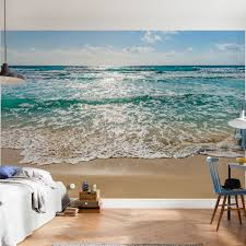 Wall Mural Decals Beach by Features Printed On Vinyl Coated Paper Paste Included Komar