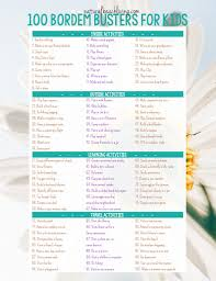 The Perfect Summer Rules For Kids Screen Free Time Parenting Ideas A