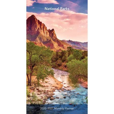 BrownTrout National Parks Two Year 2020 Pocket Planner