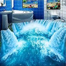 wapel 3d wearable pvc boden malerei schönen wasserfall bad wc wohnzimmer 3 d 200cmx 140cm