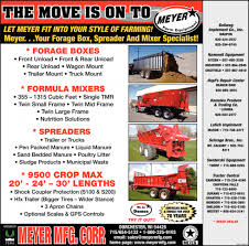 100 Meyers Truck Sales The Move Is On To Meyer Farm Equipment Meyer MFG Corp