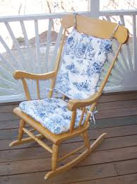 French Country Toile - Rocking Chair Cushions - Standard ... Aztec Print Rocking Chair Cushions Outdoor Bench Cushion Garden Pillow Plow Hearth Classic With Ties Qvccom Storkcraft Hoop Glider And Ottoman Set Vine Pattern Kids Baby Store Crate Barrel Gripper Saturn Celadon Jumbo Girl Nautica Crib Bedding 100 Must Meet In Locust Grove Chevron Sun Lounger Replacement Suede Seat Padded Recliner Pads Removable Chairs For Children High Chair Baby Design How Much Fabric Do You Need A Project Martha Stewart