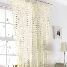 Blue Crushed Voile Curtains by Buy Popsicle Voile Curtain Cream And Gold Curtains The Range