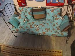 canapé lit ancien canapé lit fer forgé a faire faire shabby