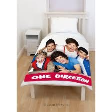 fical e Direction Craze 1D Panel Fleece Blanket Bed Throw